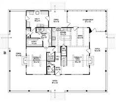 653684 3 bedroom 2 5 bath southern house plan with wrap around