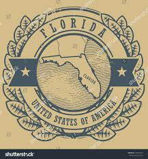 Map Of Florida Usa by Grunge Rubber Stamp Name Map Florida Stock Vector 142555453