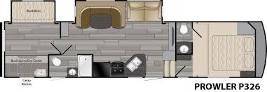 prowler cer floor plans 2018 heartland prowler p326 fifth wheel rockford mi north town