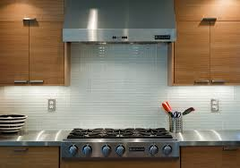 Modern Kitchen Backsplash Designs Kitchen White Glass Tile Backsplash Design With Kitchen Gas Stove