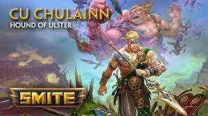smite god reveal cu chulainn hound of ulster youtube