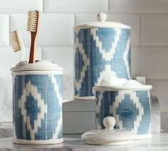 Blue And White Bathroom Accessories by Blue Bath Accessories
