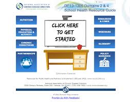 resource guide health resources national association of chronic disease