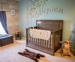 Baby Boy Bedroom Ideas by Moose Bears And Owls Oh My Nursery Messages And Leaves