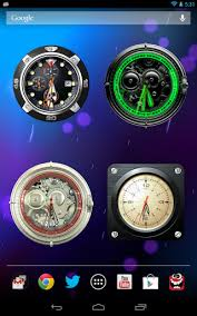 analog clock widgets for android analog clock collection install android apps cafe