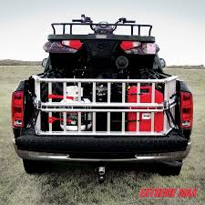 jeep bed extender amazon com extreme max nr002n 7 5 u0027 atv ramp and bed xtender combo
