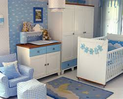 modern fresh nuance of the room decoration for a baby boy that can