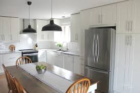 ikea kitchen cabinets microwave ikea kitchen reno before after northern nester