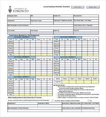 Excel Daily Timesheet Template Sle Payroll Timesheet Employee Timesheet Template Printable