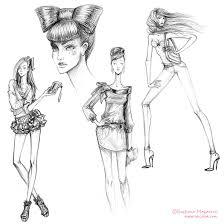fashion design sketches for girls u2013 images free download