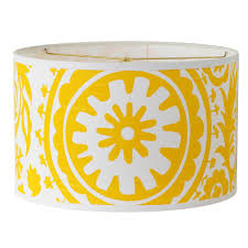 suzani drum lamp shade in bright colors colorful lighting and