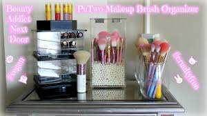 putwo makeup brush holder review vegan u0026 cruelty free youtube