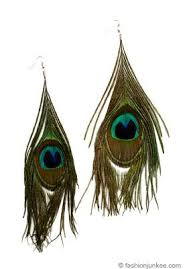 peacock feather earrings s boho large peacock feather earrings green rings n things