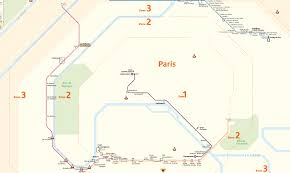 Paris Train And Metro Map by This Is What The Paris Metro Map Looks Like If You U0027re In A