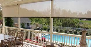 Outdoor Privacy Blinds For Decks Outdoor Solar Shades Patio Sun Shades Northsolarscreen
