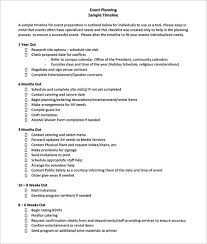 preparation of event plan for wedding sle timeline project timeline template for excel key event
