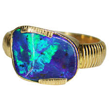 blue green opal gallery ring sunriseopals