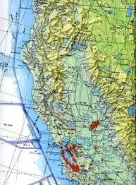 Navigation Map North Of California Map California Map