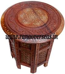 sheesham wood solid square table with brass fitted 70 best wooden side tables images on room wooden