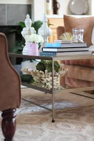 styling a glass coffee table style waltz