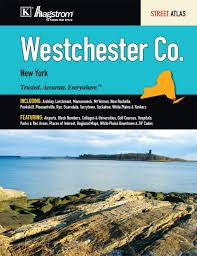 Yonkers Zip Code Map by Westchester County Ny Atlas Hagstrom 9780762576050 Amazon Com