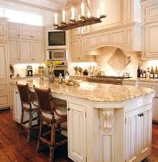 Kitchen Island Countertop Overhang Kitchen Island With Granite Countertop Top Pictures Designs