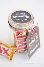 simple mason jar gifts with printable tags gift printable tags