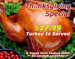 2016 jogoya seafood buffet thanksgiving special