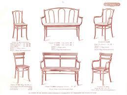 siege thonet le vã ritable catalogue de vente de meubles thonet 1914 thonet