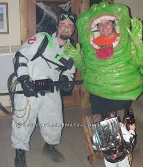 Ghostbusters Halloween Costumes Awesome Homemade Slimer Costume Ghostbusters Slimer Costume