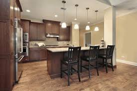 white kitchen wood island kitchen colors with black cabinets black l shape cabinet white