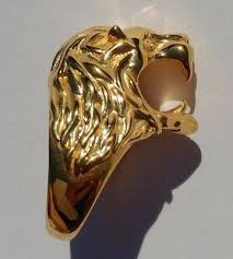 classic lion ring holder images Vintage 18k gold lion cigarette holder ring 57 95 picclick jpg