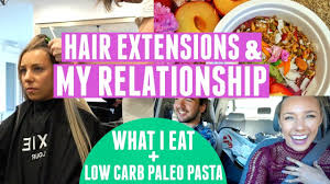 sarahs hair extensions hair extensions my relationship what i eat paleo pasta