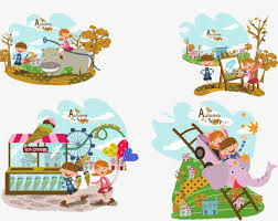 imagenes animadas de otoño dibujos animados de otoño otoño paisaje el comienzo del otoño