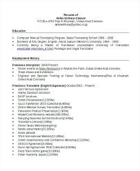 sample secretary resume resume resume example bilingual