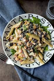 Pasta Salad Mayo by Pasta Salad With Black Beans Vegan Recipe Cookshideout