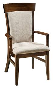 riverside upholstered dining room chair from dutchcrafters amish