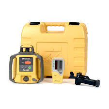 topcon rl h4c rotary slope laser level with ls 80l detector
