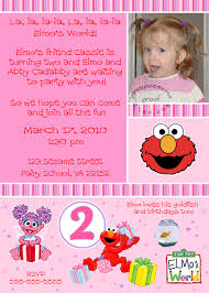 elmo online invitations 2nd birthday invitations u2013 gangcraft net