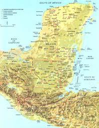 America Latina Map by Maya Map