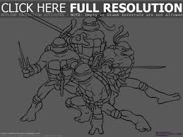 ninja turtles coloring pages for kids printable coloring page