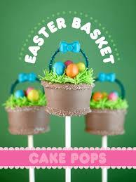 Easter Decorated Cake Pops by Easter Basket Cake Pops U2013 Bakerella Com