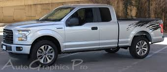 truck ford 2017 2015 2016 2017 2018 ford f 150 vinyl graphic racer rip side truck