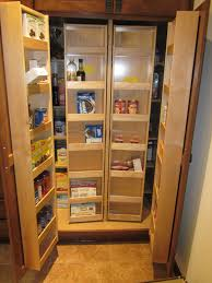 tall kitchen pantry for storing many things amazing home decor
