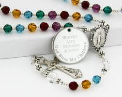 personalized rosary personalized and handcrafted with a twist by charmingrosary