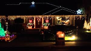 christmas light show house music glendora christmas music light show house youtube