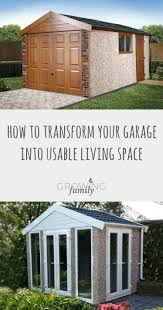 transform your garage into a usable living space growing