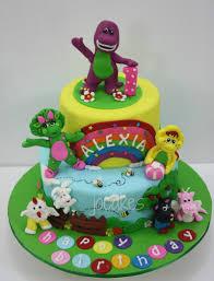 Diy Barney Decorations Barney Birthday Cake U2026 Pinteres U2026