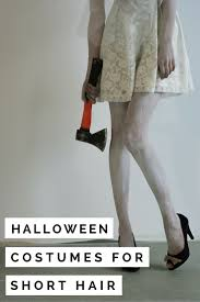 list of ideas for halloween costumes 13 halloween costumes for short hair valery brennan