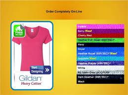 custom gildan s v neck t shirts customize t shirts cheap cust